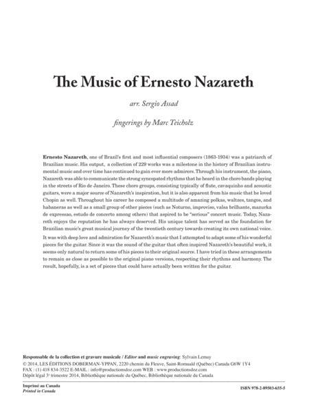 The Music of Ernesto Nazareth - 16 Pieces