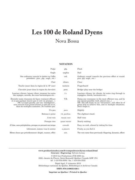 Les 100 de Roland Dyens - Nova Bossa