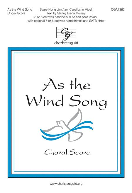 As the Wind Song - Choral Score