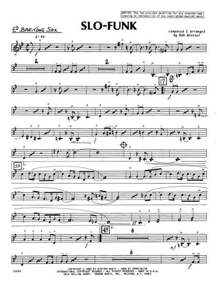 Slo-Funk - Eb Baritone Sax