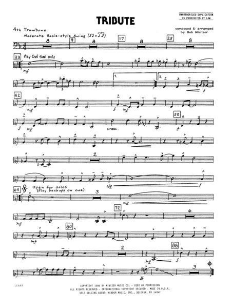 Tribute - 4th Trombone