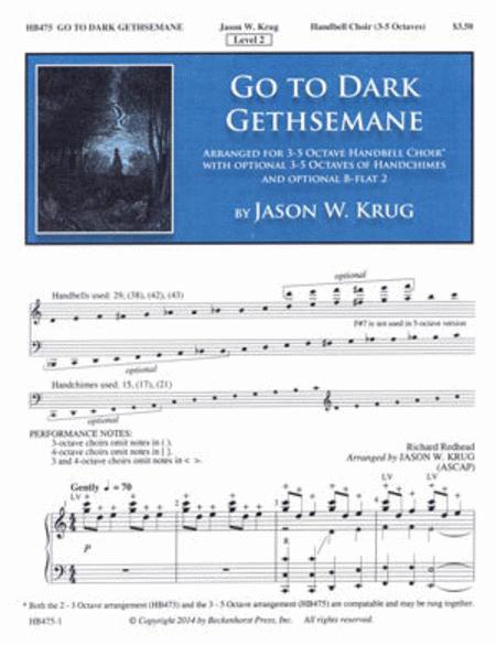 Go to Dark Gethsemane (3-5 octaves)