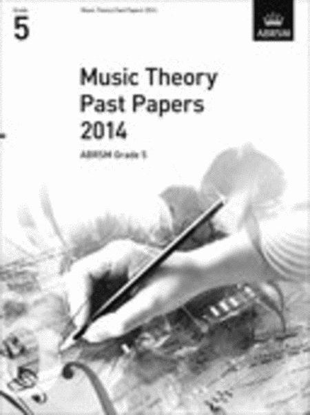 Music Theory Past Papers 2014, ABRSM Grade 5