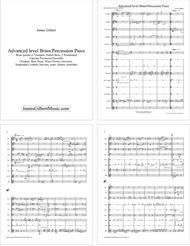 Brass Quintet & Percussion Ensemble Piece