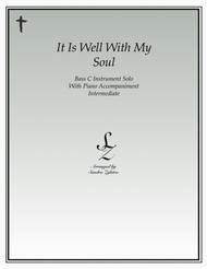 It Is Well With My Soul (bass C instrument solo)