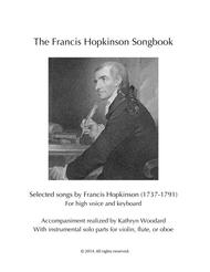 The Francis Hopkinson Songbook (treble instr. solos)