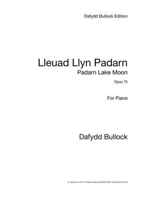 Lleuad Llyn Padarn - Padarn Lake Moon