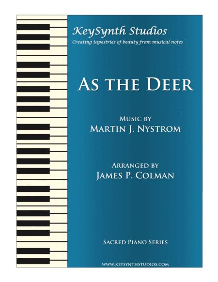 Download As The Deer Sheet Music By Martin Nystrom Sheet Music Plus