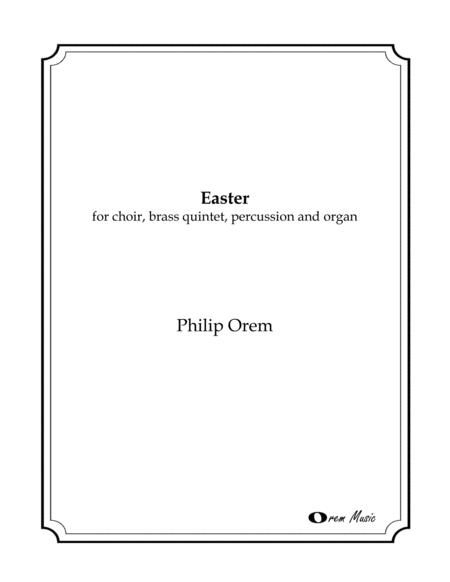 Easter - score and instrumental parts