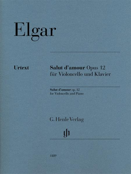 Salut d'amour Op. 12 for Violoncello and Piano