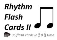 Rhythm II Flash Cards