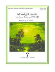 Moonlight Sonata - Beethoven, for Small Hands, Busy Teens & Adults