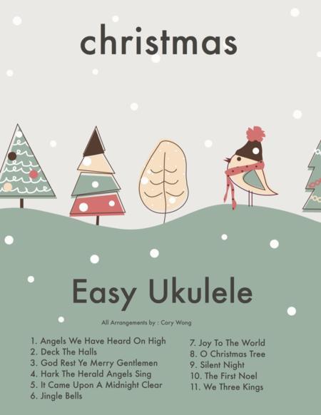 Jingle Bells (Beginner Ukulele w/TAB)