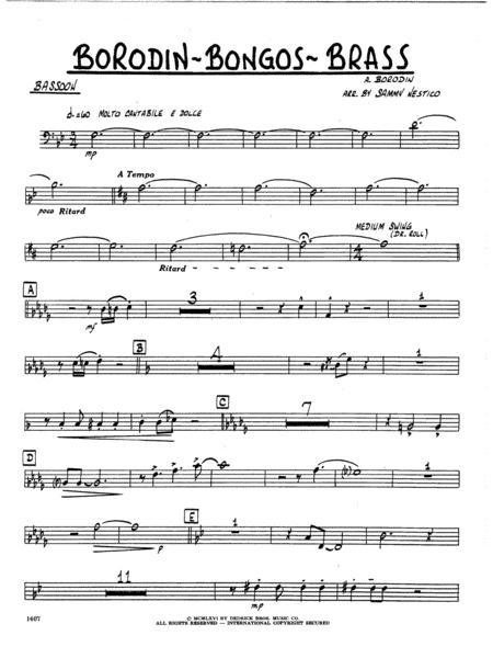 Borodin-Bongos-Brass - Bassoon