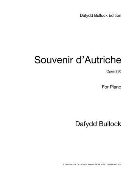 Souvenir d'Autriche - Souvenir of Austria