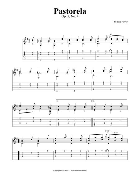 Pastorela, Op. 5, No. 4