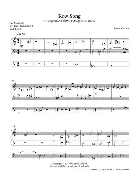 Row Song