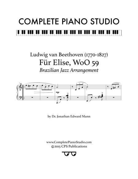 Für Elise (Brazilian Jazz arrangement)
