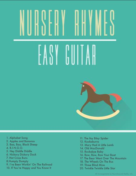 Easy Guitar Nursery Rhymes and Children's Songs (w/chords and TAB)