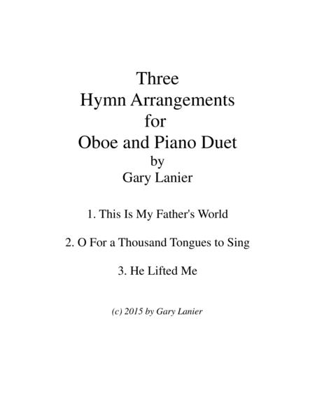 THREE HYMN ARRANGEMENTS for OBOE and PIANO (Duet – Oboe/Piano with Oboe Part)
