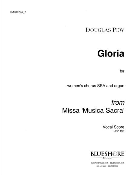 Gloria, SSA and Organ