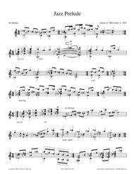 Jazz Prelude in E Minor