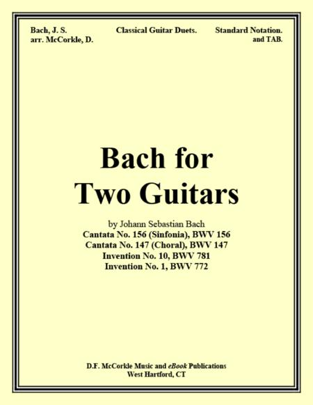 Bach for Two Guitars (Collection)
