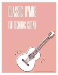 24 Classic Hymns For Beginner Guitar  (w/TAB)