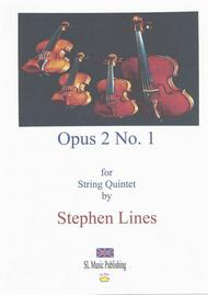 Op.2 No.1 for string orchestra