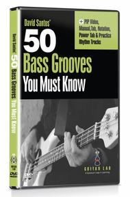 50 Bass Grooves You Must Know DVD