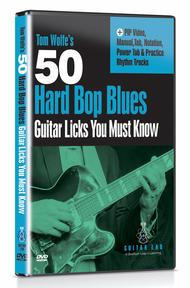 50 Hard Bop Blues Licks You Must Know DVD