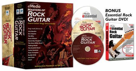 eMedia Rock Guitar Collection - 2 Volume Set with Bonus DVD