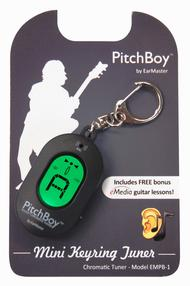 EarMaster PitchBoy Mini Keyring Tuner (Black)