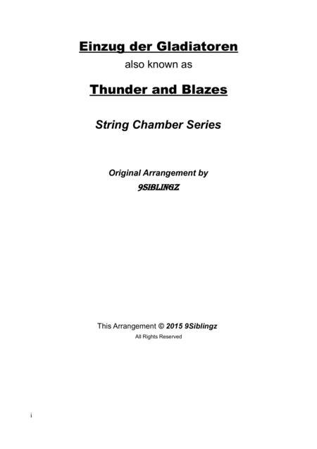 String Chamber Series: Einzug der Gladiatoren