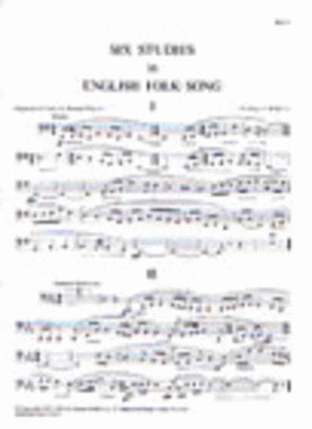 Six Studies in English Folk-Song. Horn in F