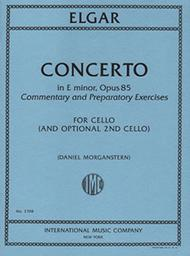 Cello Concerto in E minor, Opus 85, Commentary and Preparatory Exercises