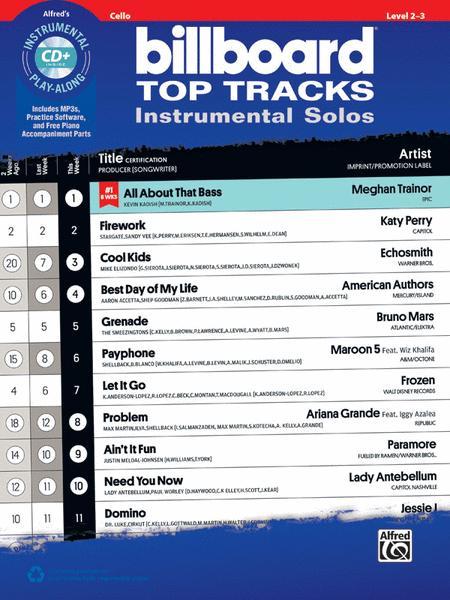 Billboard Top Tracks Instrumental Solos for Strings