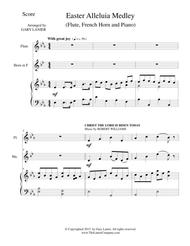 EASTER ALLELUIA MEDLEY (Trio – Flute, French Horn/Piano) Score and Parts