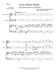 EASTER ALLELUIA MEDLEY (Trio – Bb Clarinet, Bassoon/Piano) Score and Parts
