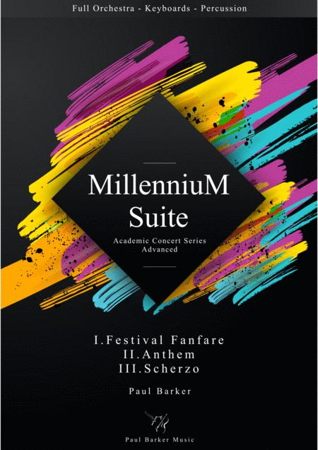 Millennium Suite  (Full Orchestra Version) Instrumental Pack
