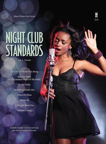 Night Club Standards for Females - Volume 3