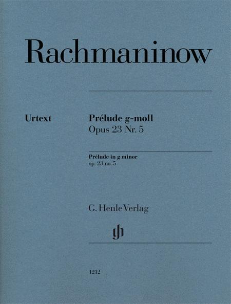 Prelude in G minor Op. 23 No. 5