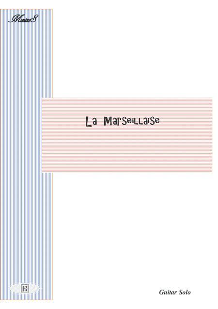 La Marseillaise guitar solo with tablature