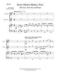 EASTER ALLELUIA MEDLEY (Trio – Alto Sax, Tenor Sax/Piano) Score and Parts