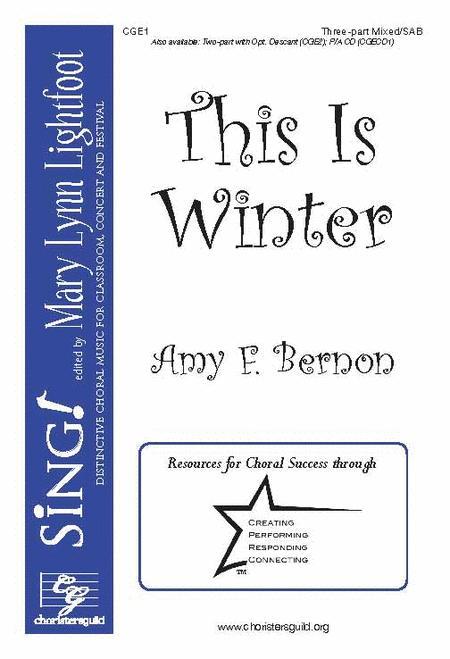 This Is Winter (Three-part Mixed/SAB)
