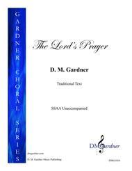 The Lord's Prayer (SSAA - Unaccompanied)