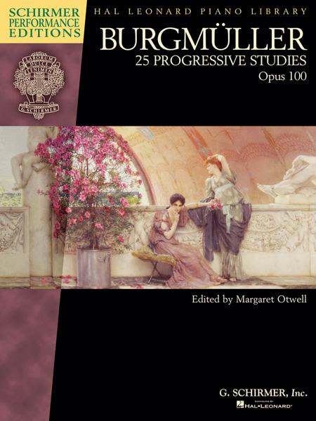 Burgmuller - 25 Progressive Studies, Opus 100