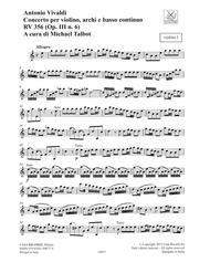 Concerto A Minor, RV 356, Op. III, No. 6