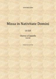 Credo in unum Deum - Missa in Nativitate Domini - Solo voices and SATB chorus a cappella
