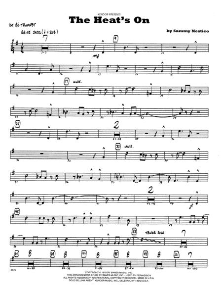 The Heat's On - 1st Bb Trumpet